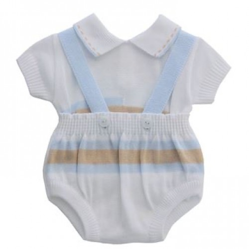 Baby boys knitted 2 piece set